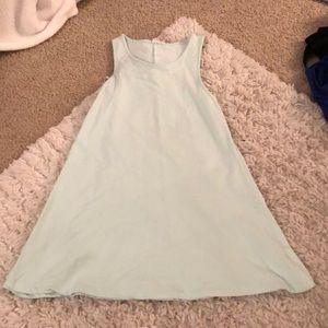 Mint T-shirt dress